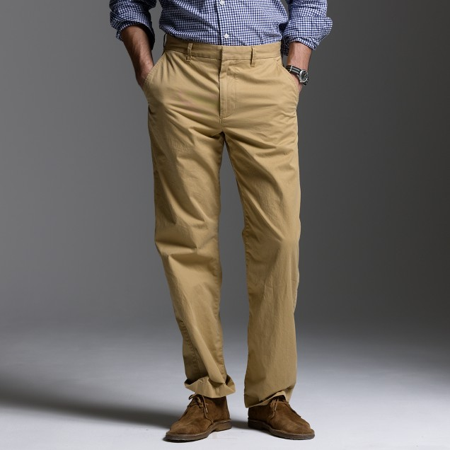 Relaxed-fit lightweight chino