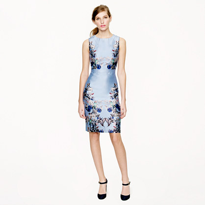 Collection hummingbird floral dress