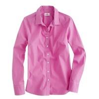 Stretch perfect shirt in mini-windowpane