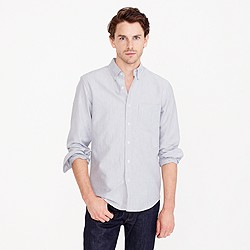 Tall vintage oxford shirt in heathered cotton