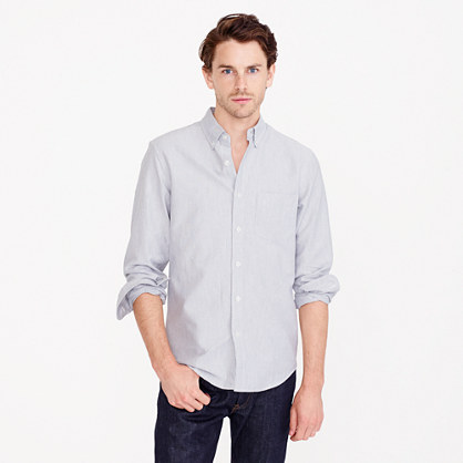 Vintage oxford shirt in heathered cotton