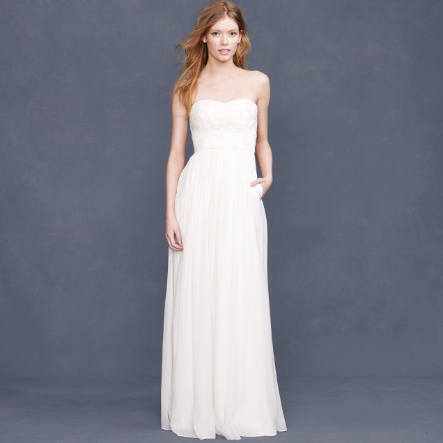 Farrah beaded gown