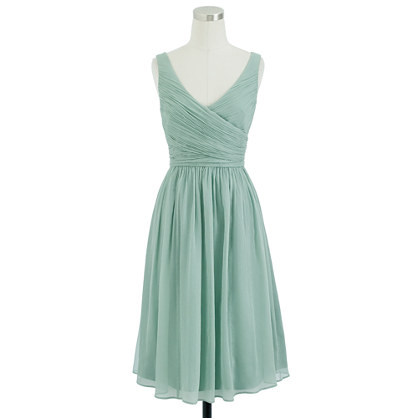 Heidi dress in silk chiffon