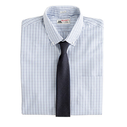 Thomas Mason® for J.Crew button-down dress shirt in tattersall