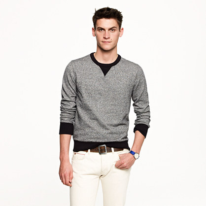 Wallace & Barnes marled ringer sweatshirt