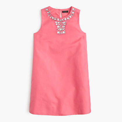 Girls' Gracen dress in cotton cady