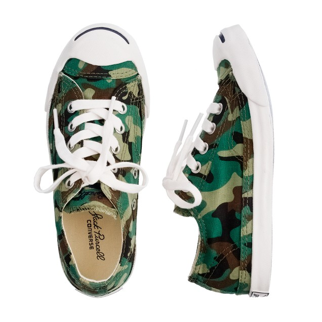 Kids' Converse® Jack Purcell® for crewcuts low-tops in camo print