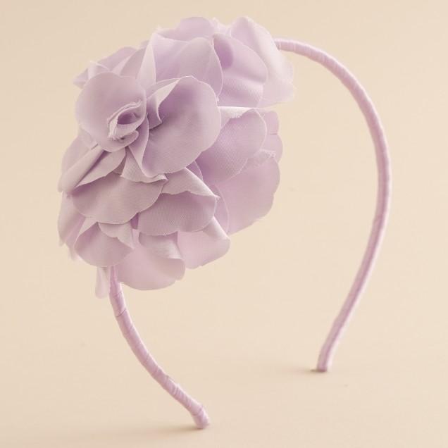 Girls' flower headband