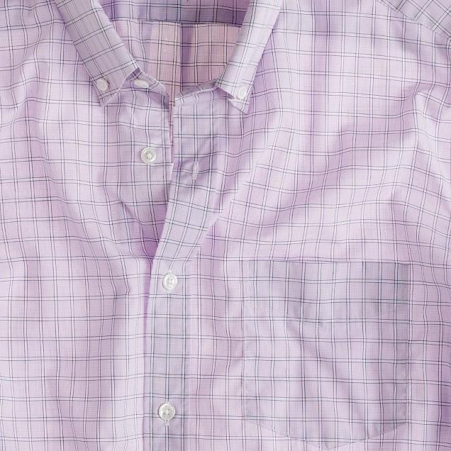 Slim washed Thomas Mason® for J.Crew slim shirt in violet windowpane check