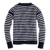 Wallace & Barnes striped Guernsey sweater
