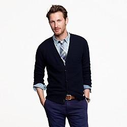 Cotton pocket cardigan