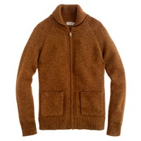 Wallace & Barnes Shetland wool cardigan