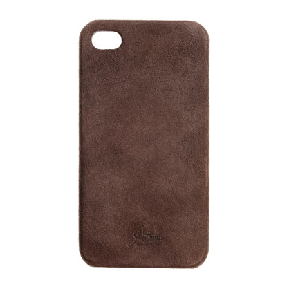 Suede case for iPhone 4