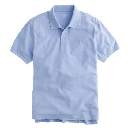 Slim classic piqué polo shirt