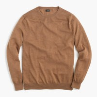 Tall merino wool crewneck sweater