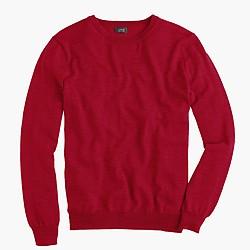 Merino wool crewneck sweater