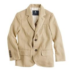 Boys' Ludlow suit jacket in linen