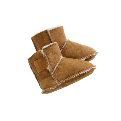 baby Minnetonka® shearling booties