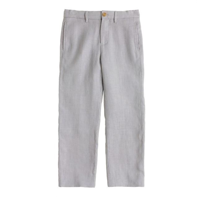 Boys' Ludlow suit pant in linen