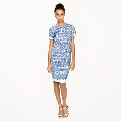 Collection daisy lace print dress