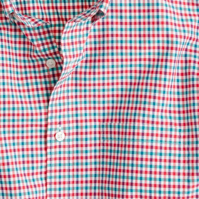 Secret Wash shirt in multicolor check