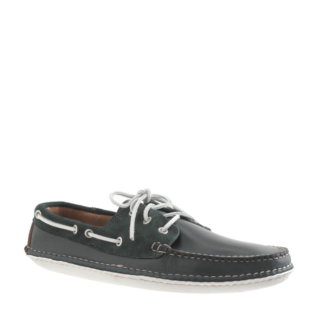 Quoddy® for J.Crew leather and suede boat shoes