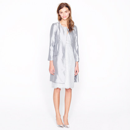 Collection organza dress coat