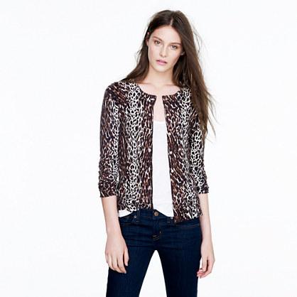 Tippi cardigan in leopard