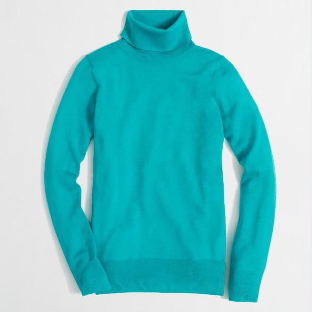 Factory merino turtleneck sweater
