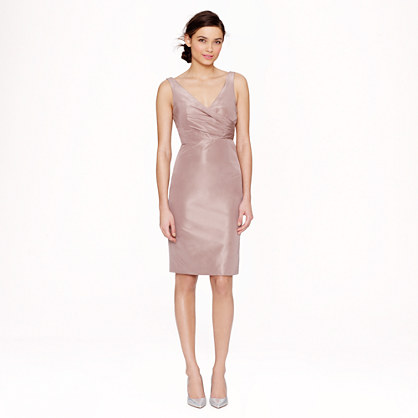 Sara dress in silk taffeta
