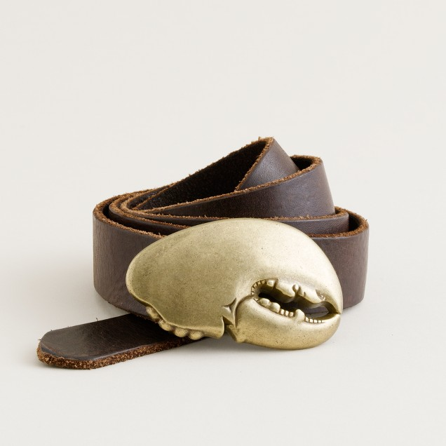 Lobster claw belt