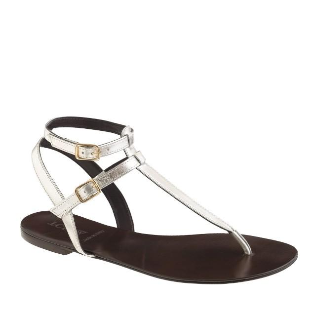 Tabbie T-strap sandals