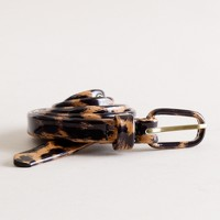 Skinny Serengeti patent-leather belt