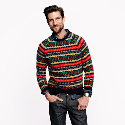 Tingwall Fair Isle sweater