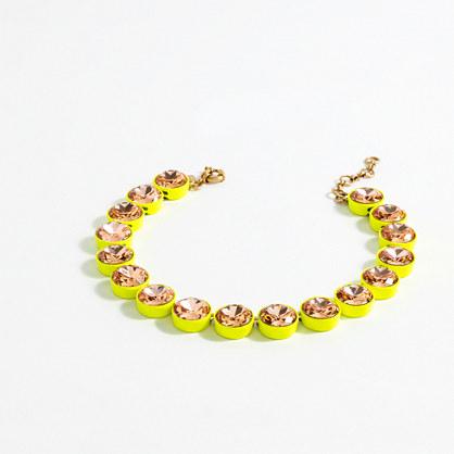Jumbo brûlée necklace