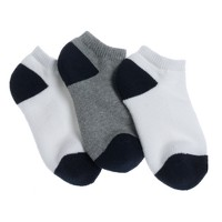 Boys' sport ankle socks three-pack
