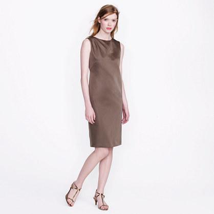Collection duchesse satin shift dress
