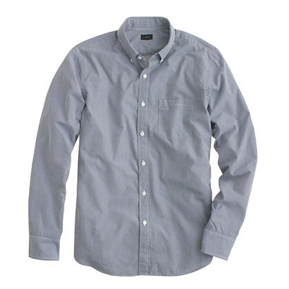 Secret Wash shirt in small gingham