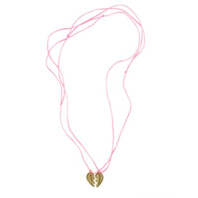 Girls' best friends charm necklace