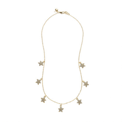Girls' starfish necklace