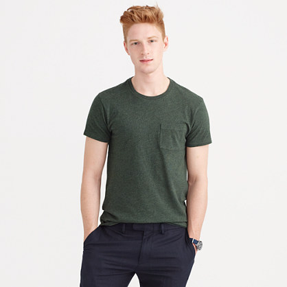 Slim flagstone pocket T-shirt