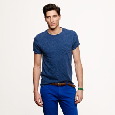 Slim flagstone pocket T-shirt