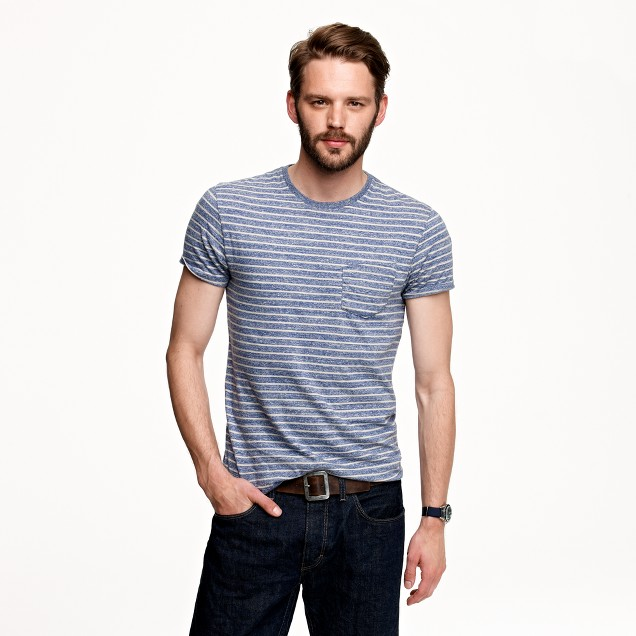 Slim Flagstone tee in stripe