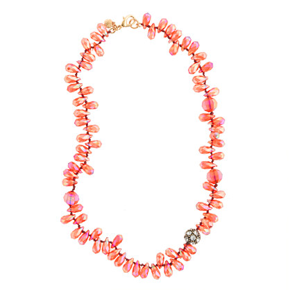 Girls' mixed bead necklace