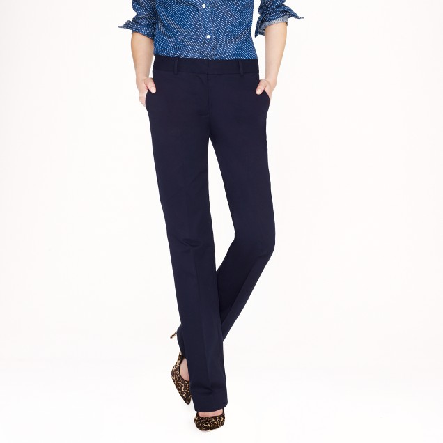 Café trouser in cotton