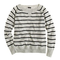 Collection cashmere Isabel sweatshirt in stripe