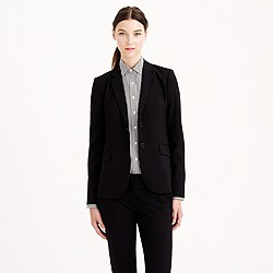 1035 two-button jacket in Italian stretch wool