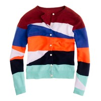 Creatures of the Wind for J.Crew broken-stripe cardigan