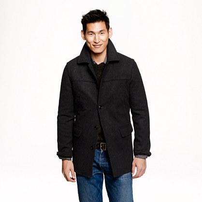 Slim university coat
