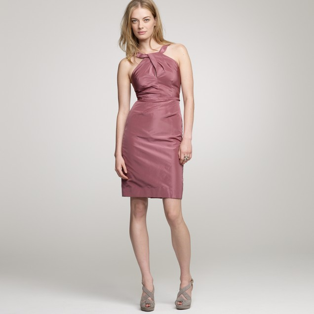 Silk taffeta Gracie dress